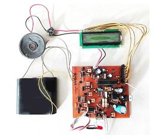 کیت مونتاژ شده فلزیاب همراه با محافظ شارژ باتری (بدون باتری)
